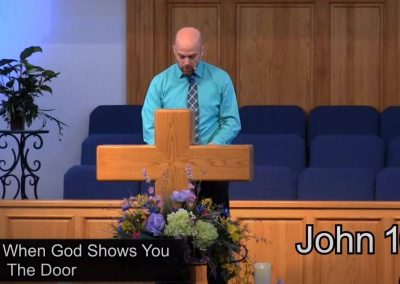 When God Shows You The Door – Pastor Tim Ingle