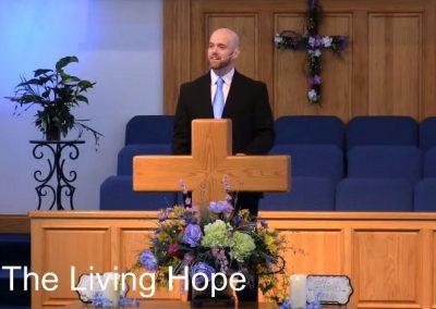 The Living Hope – Pastor Tim Ingle