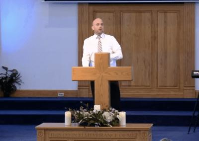 Reminder – Pastor Tim Ingle
