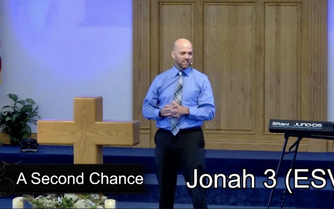A Second Chance – Pastor Tim Ingle